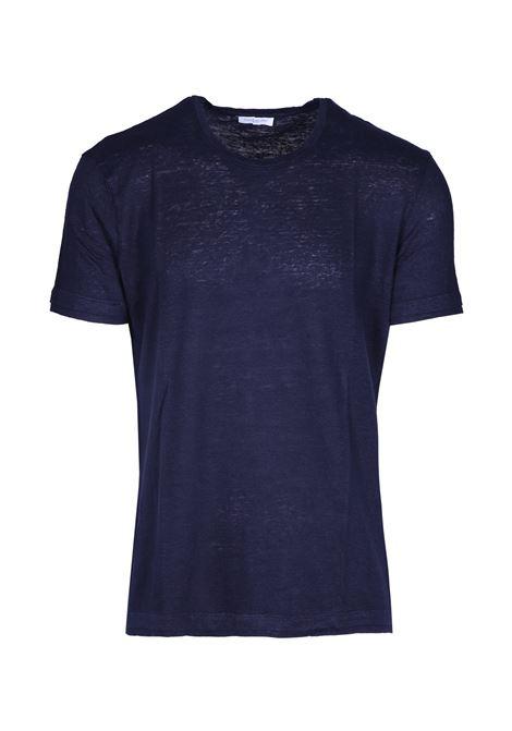 Linen T-shirt PAOLO PECORA | T-shirts | F101 48486685