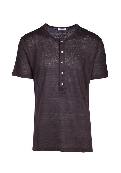 Pure linen t-shirt PAOLO PECORA | T-shirts | F111 48482186