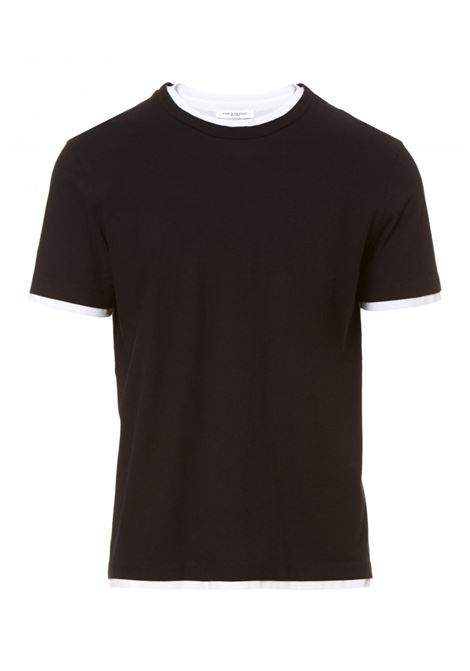 T-shirt with contrasting edges PAOLO PECORA | T-shirts | F181 41699000