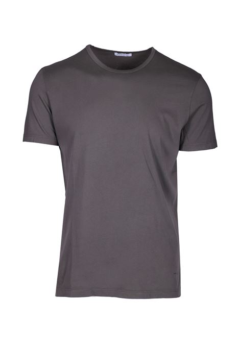 Crewneck t-shirt with slits PAOLO PECORA | T-shirts | F211 63205719