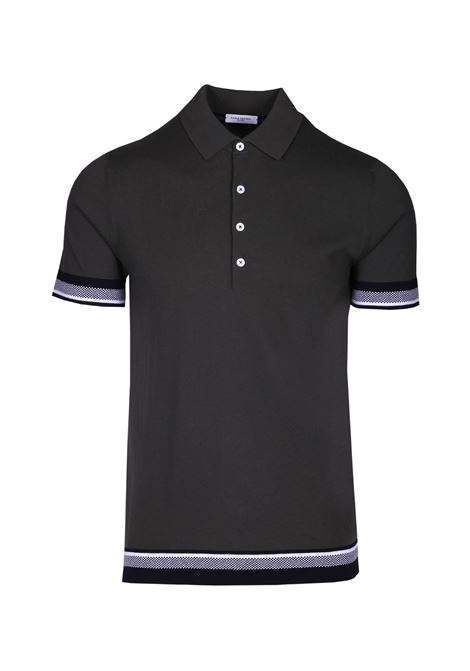 Polo shirt with contrasting detail PAOLO PECORA | Polo Shirts | F321 41386685