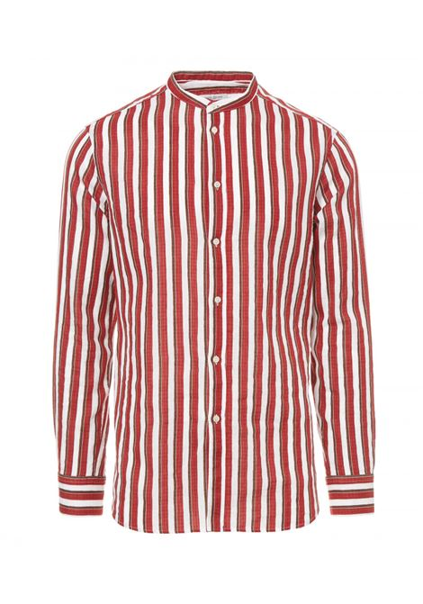 Vertical striped shirt PAOLO PECORA | Shirts | G151 3700R502