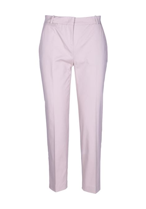 CIGARETTE-FIT LUXURY GABARDINE PANTS PINKO | Trousers | 1B13NG-6832C50
