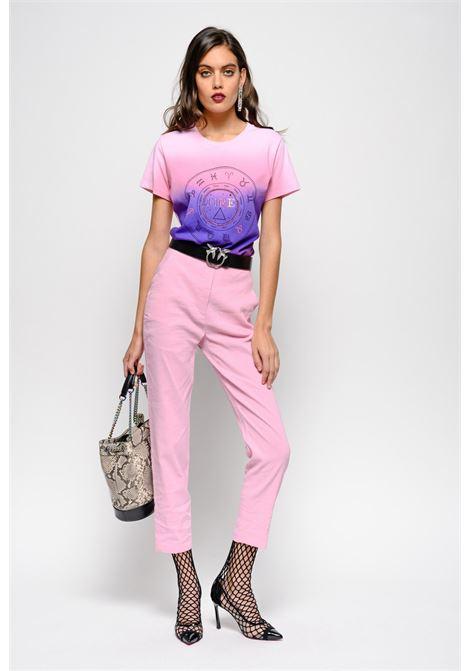 Pantaloni in tela di lino e viscosa. Pinko PINKO | Pantaloni | 1B13QY-7435O79