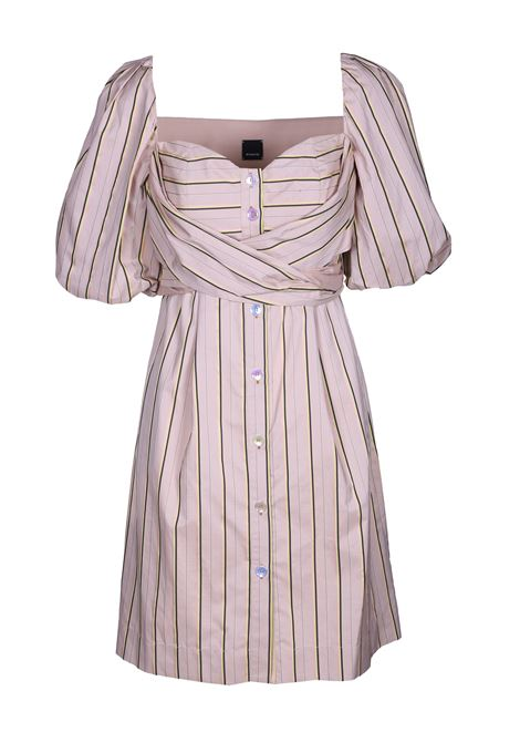 MULTICOLOR STRIPED DRESS PINKO | Dresses | 1B13UJ-7445CH4