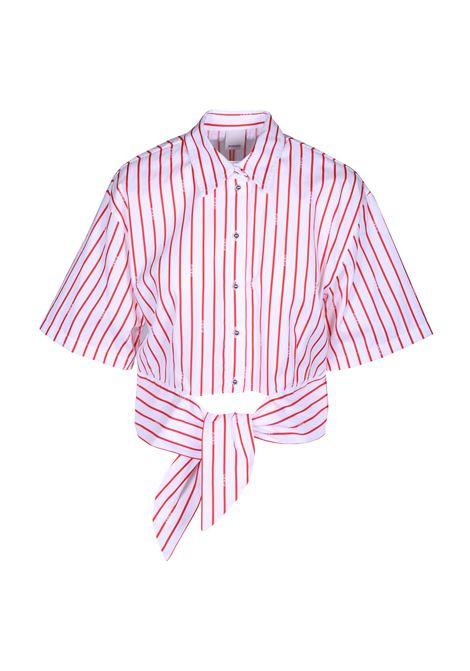 Camicia a righe cotone PINKO | Camicie | 1G13YW-7350ZR5