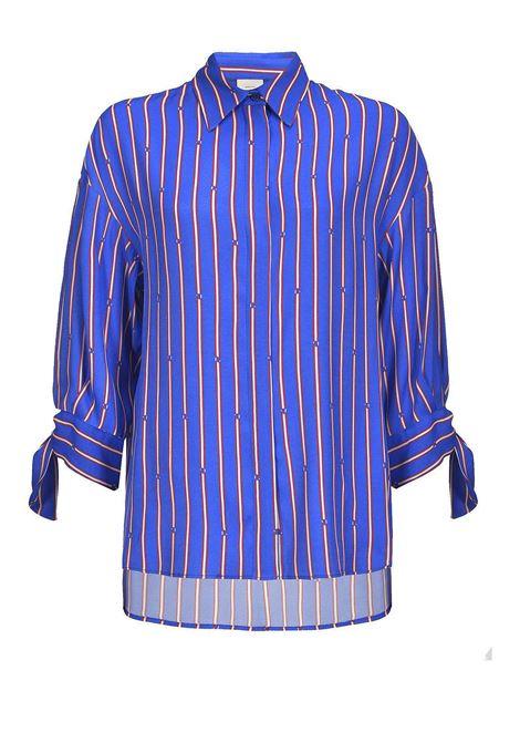 Oversized Twill Shirt PINKO | Shirts | 1G13Z1-7348ERC