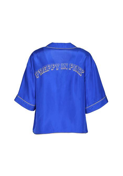 Camicia in seta maniche corte PINKO | Camicie | 1G13Z7-Y59CG00