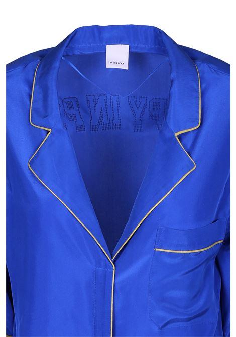 Short sleeves silk shirt PINKO | Shirts | 1G13Z7-Y59CG00