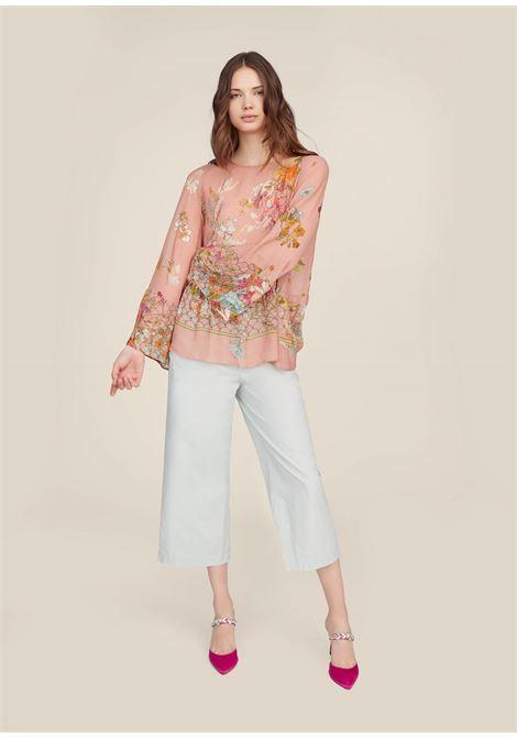 Pantaloni cropped in cotone. SEMICOUTURE | Pantaloni | S9PQ07O86-0