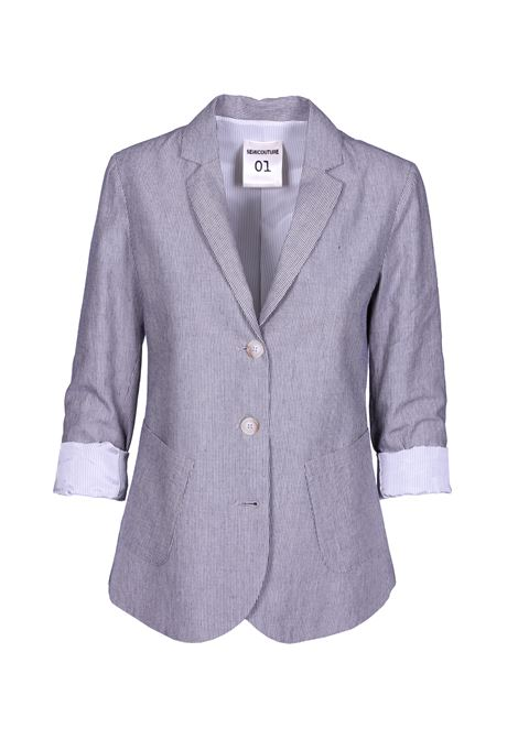 Pirot striped jacket SEMICOUTURE | Blazers | Y9PR01VAR02