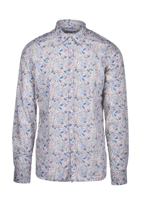 David Floral shirt - beige AGLINI | Shirts | DAVIDE701400