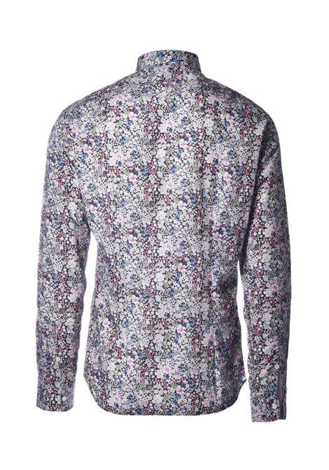 David Camicia floreale - grigio AGLINI | Camicie | DAVIDE701401