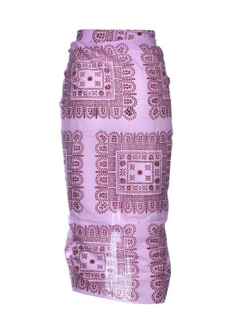Nalii pareo di cotone etnico - Rosa ANTIK BATIK | Parei | NALY1PARLIGHT PINK