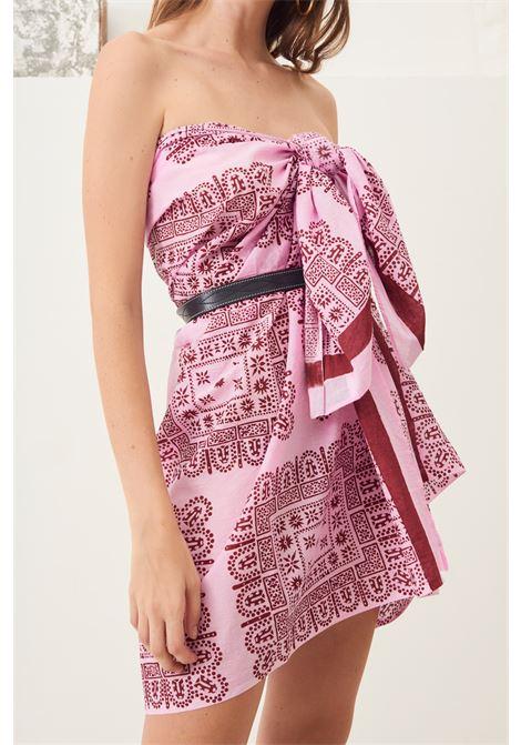 Nalii ethnic cotton sarong - Pink ANTIK BATIK |  | NALY1PARLIGHT PINK
