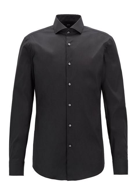 Camicia slim fit in popeline elasticizzato BOSS   Camicie   50260064001