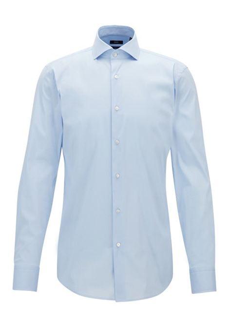 Camicia slim fit in popeline elasticizzato BOSS   Camicie   50260064450