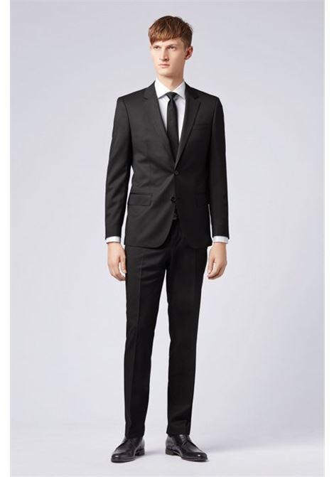 Slim fit jacket Hayes-C - black BOSS   Blazers   50318498C001
