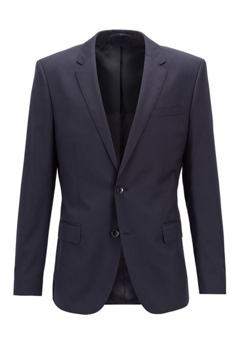 Giacca slim fit hayes-c - blu scuro BOSS | Giacche | 50318498C401