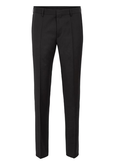 Slim fit pants in virgin wool BOSS | Trousers | 50318499C001