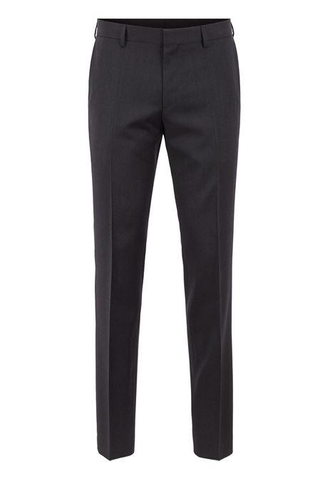 Slim fit pants in virgin wool BOSS | Trousers | 50318499C021