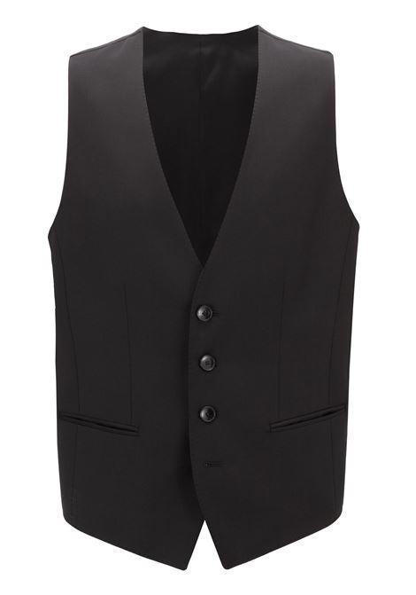 Slim-fit waistcoat in virgin wool BOSS | Vests | 50318500001
