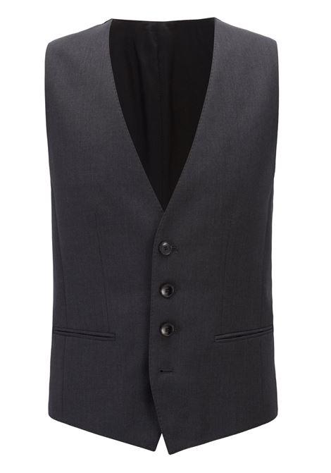 Slim-fit waistcoat in virgin wool BOSS | Vests | 50318500021