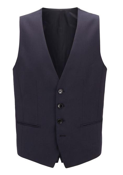 Slim-fit waistcoat in virgin wool BOSS | Vests | 50318500401