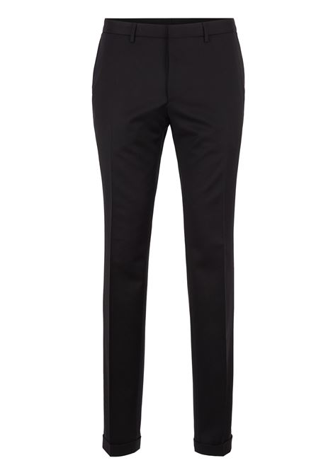 Extra-slim-fit trousers in virgin wool BOSS | Trousers | 50320555001