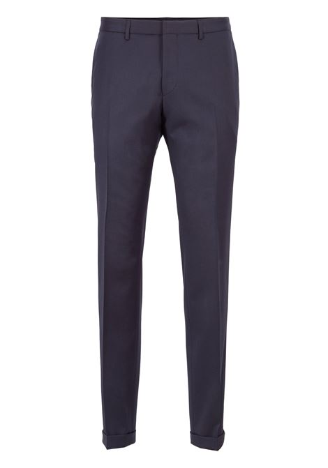 Extra-slim-fit trousers in virgin wool BOSS | Trousers | 50320555401