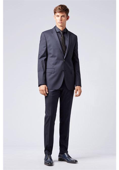 Extra-slim-fit trousers in virgin wool BOSS | Trousers | 50320555401