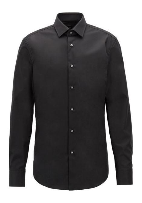 Camicia business slim fit in popeline di cotone BOSS   Camicie   50327693001