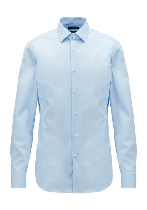 Camicia business slim fit in popeline di cotone. HUGO BOSS BOSS   Camicie   50327693450