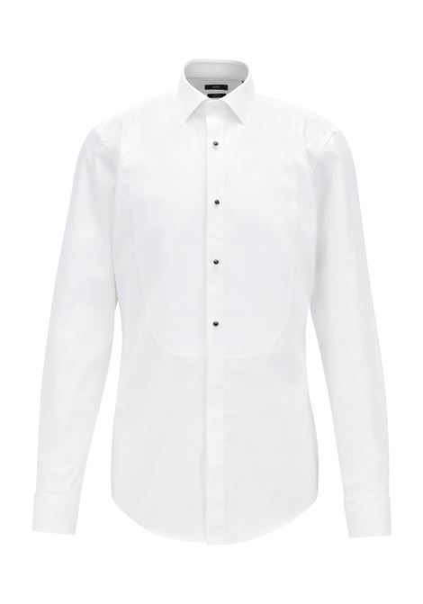 Formal slim-fit shirt in pure cotton BOSS | Shirts | 50373393100