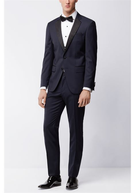 Giacca slim fit hence - blu scuro BOSS | Giacche | 50375810401