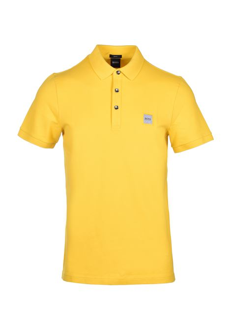 Polo passenger slim fit - giallo BOSS | Polo | 50378334723