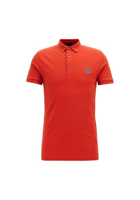 Polo passenger slim fit - rosso BOSS | Polo | 50378334805