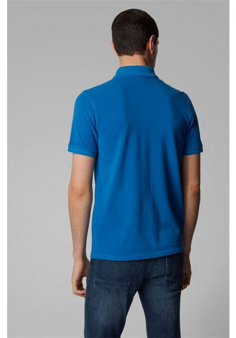 Polo prime regular fit due bottoni - blu elettrico BOSS | Polo | 50378365435