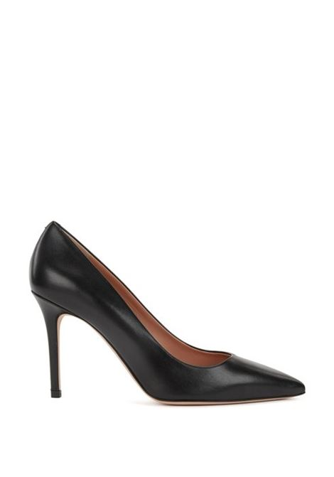 Pointed-toe court shoes in Italian leather BOSS | Shoes | 50380934001