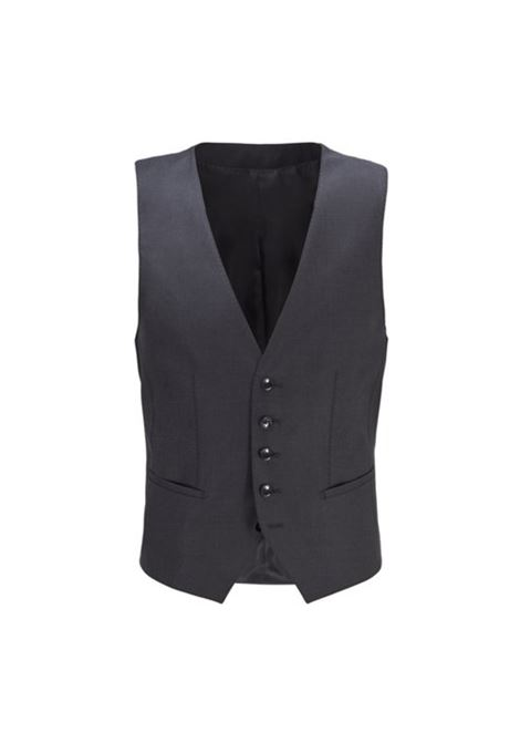 Tailored slim-fit waistcoat in virgin wool Loropiana super 150'S BOSS | Vests | 50384771061