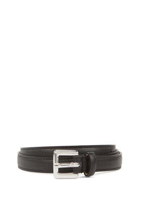 Slim belt in grained Italian leather BOSS | Belt | 50390644001