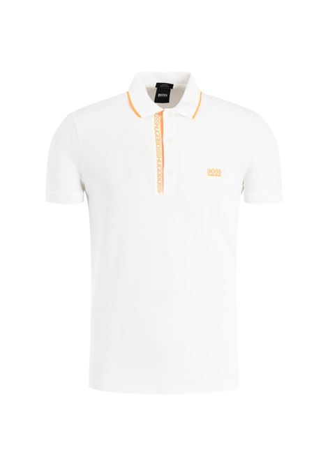Polo paule Slim-fit Oxford piqué - natural BOSS | Polo Shirts | 50399185102