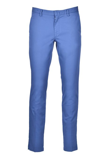 Slim-fit chinos in stretch-cotton gabardine BOSS | Trousers | 50410310479