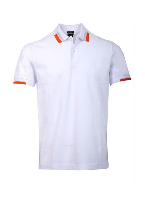 polo paddy Regular-fit with colour-blocking - natural BOSS | Polo Shirts | 50423201109