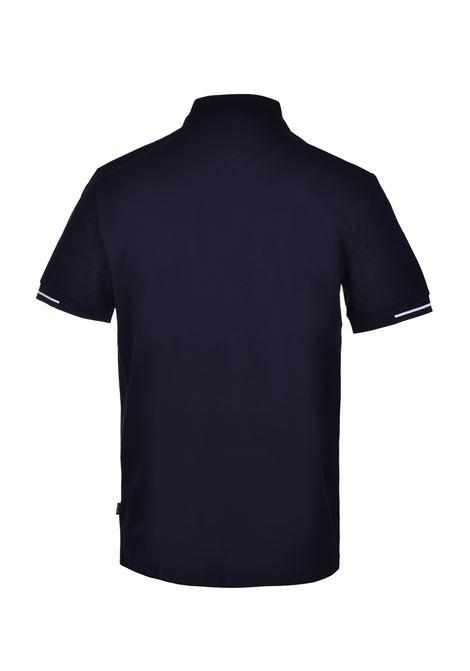 Polo perlay regular fit a blocchi di colore - blu scuro BOSS   Polo   50423201402