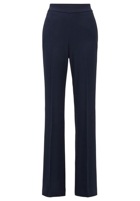 Relaxed-fit trousers with high-rise waistband BOSS | Trousers | 50423912466