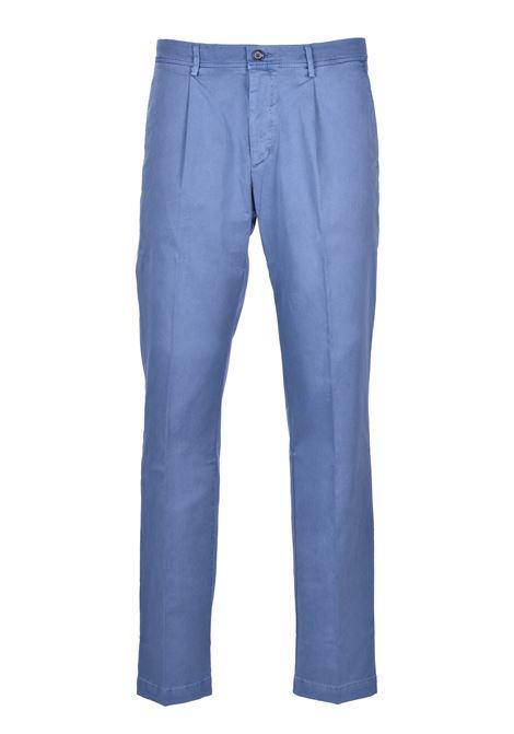 Casual pants in gabardin - dark blue BOSS | Trousers | 50425524407