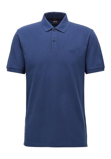 Polo pallas regular-fit two-button - dark blue BOSS | Polo Shirts | 50425985407
