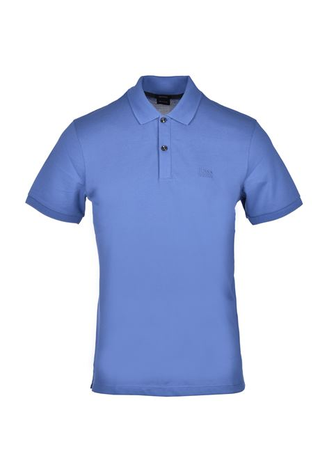 Polo pallas regular-fit two-button - open blue BOSS | Polo Shirts | 50425985479