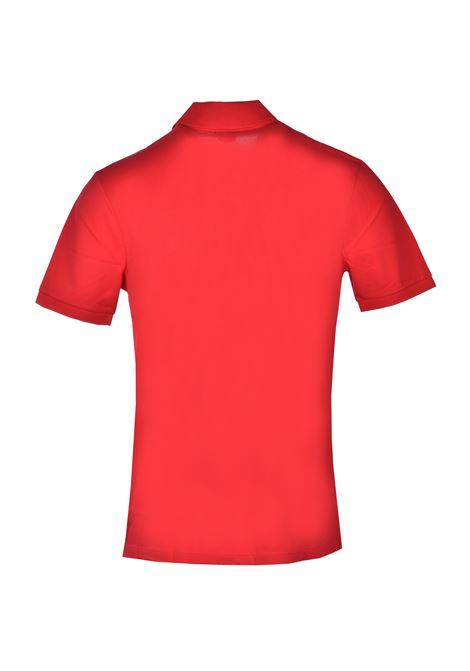 Polo pallas regular fit due bottoni - rosso BOSS   Polo   50425985617
